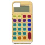 Calculadora Jeweled retra iPhone 5 Fundas