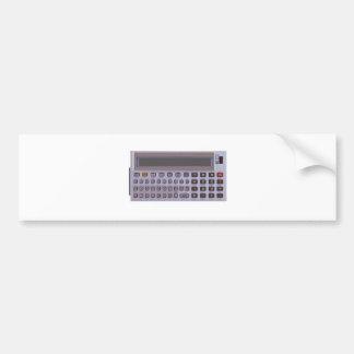 calculadora pegatina para auto