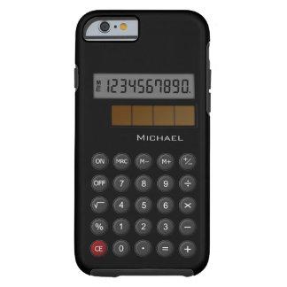 Calculadora retra funda para iPhone 6 tough