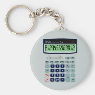 Calculadora simulada llaveros