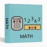 Calculadora y regla lindas con matemáticas del