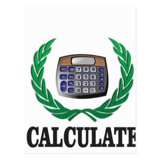 calculate the fern postcard