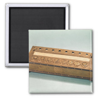 Calculating machine invented by Blaise Pascal Magnet
