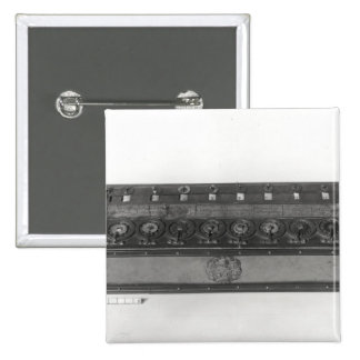 Calculating Machine invented Pinback Button