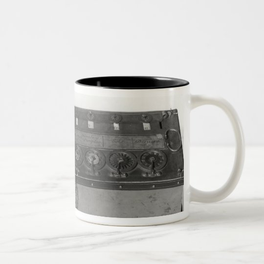 Calculating Machine invented Two-Tone Coffee Mug