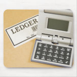 Calculator and Ledger (2) Mouse Pad