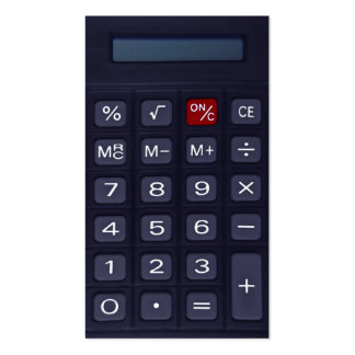 calculator Double-Sided standard business cards (Pack of 100)