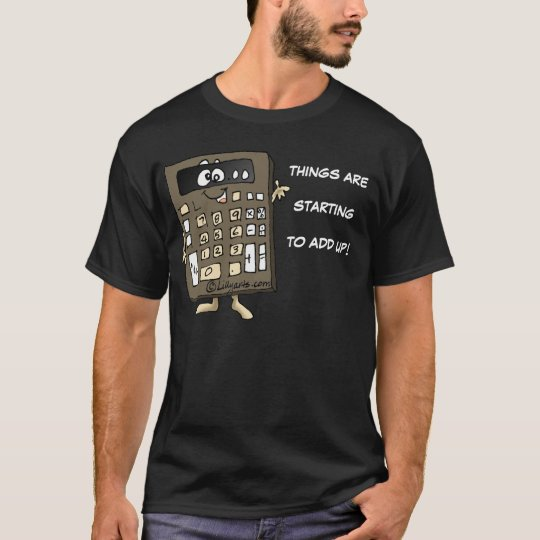 Calculator Cartoon T-shirt Apparel