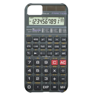 Calculator iPhone 5C Case