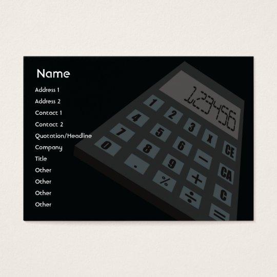 Calculator - Chubby Business Card