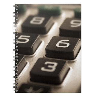 """Calculator Close-Up"" Notebook"
