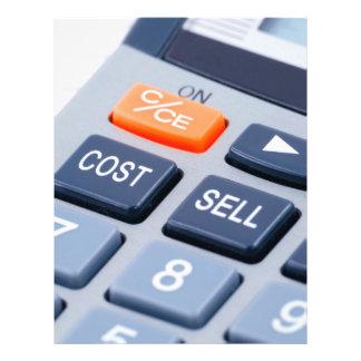 Calculator Custom Flyer