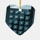 Calculator Illustration Ornament