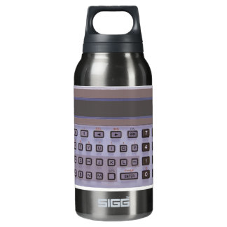 calculator insulated water bottle