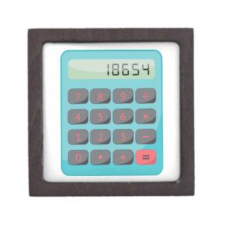 Calculator Jewelry Box
