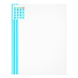 Calculator Letterhead