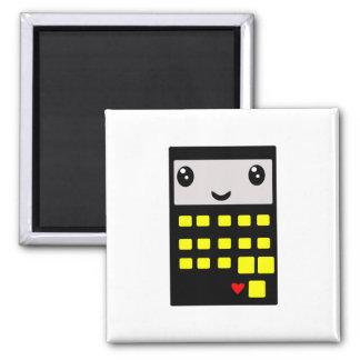 Calculator Love 2.2 2 Inch Square Magnet