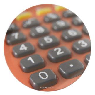 Calculator Melamine Plate