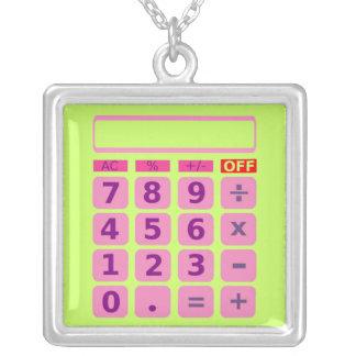 Calculator Necklace