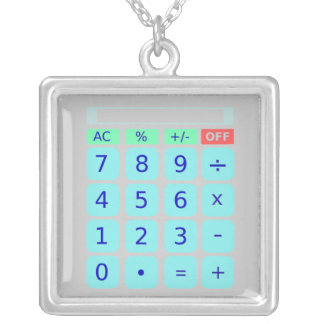 Calculator Necklace