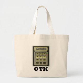 Calculator OTK Large Tote Bag