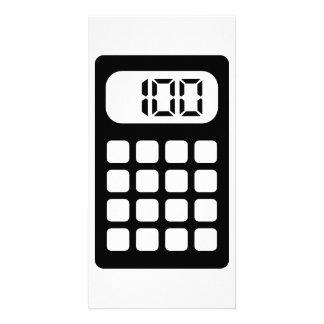 Calculator Photo Card