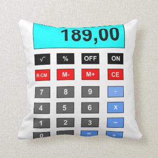 calculator pillow