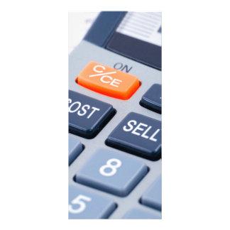 Calculator Rack Card