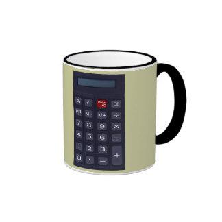 calculator ringer mug