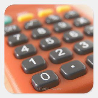 Calculator Square Sticker