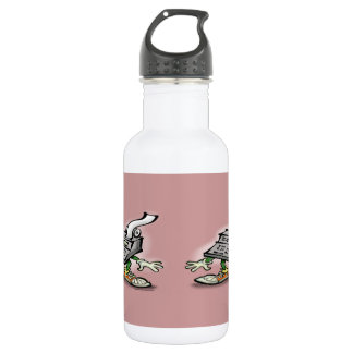 Calculator Stainless Steel Water Bottle