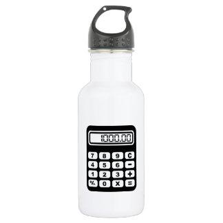 Calculator Stainless Steel Water Bottle