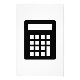 Calculator Stationery Design
