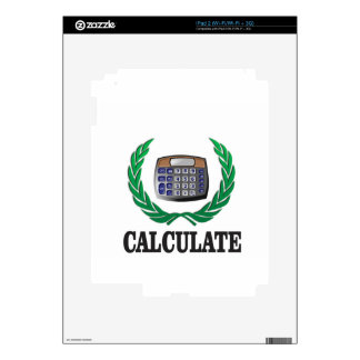 calcule el helecho skin para el iPad 2
