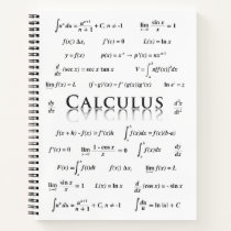 Calculus Equations Notebook