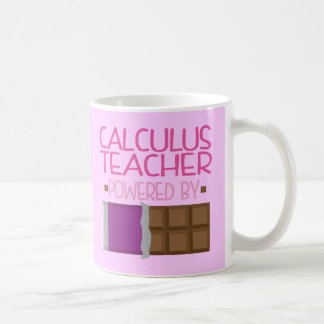 Calculus Teacher Chocolate Gift for Woman Mugs