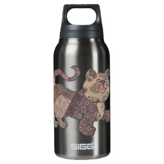 Calcutta Calico Cat Thermos Water Bottle