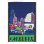 Calcutta, Vintage Greeting Card