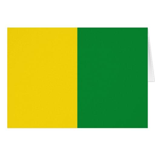 Caldas, bandera de Colombia Tarjeta De Felicitación