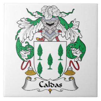 Caldas Family Crest Tile