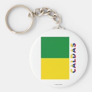 Caldas Flag with Name Key Chain