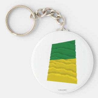 Caldas Waving Flag Key Chain