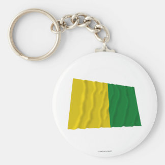 Caldas Waving Flag Keychains