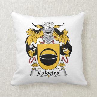 Caldeira Family Crest Throw Pillow