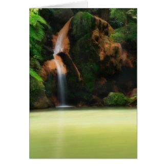 Caldeira Velha - Azores Card