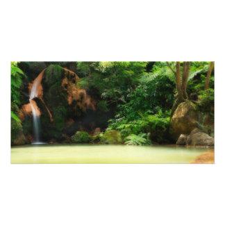 Caldeira Velha - Azores Photo Card