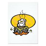 Caldera de las brujas invitación 12,7 x 17,8 cm