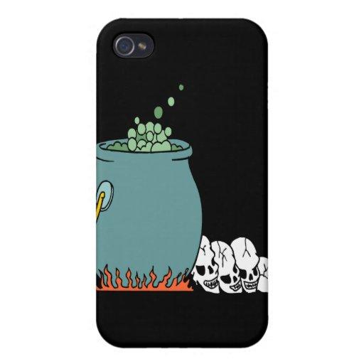Caldera de las brujas iPhone 4 protectores