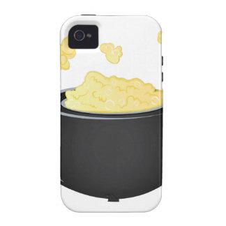 Caldera de las palomitas iPhone 4/4S carcasas