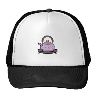 Caldera de té gorra